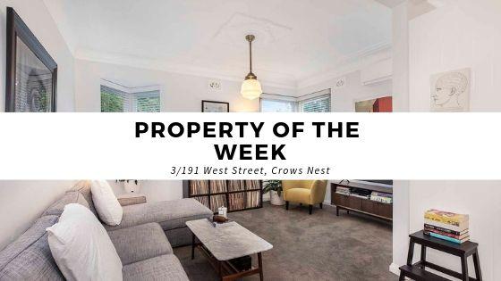 3/191 West Street, Crows Nest